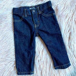 Oshkosh B'gosh baby straight jeans size 0 / 9m
